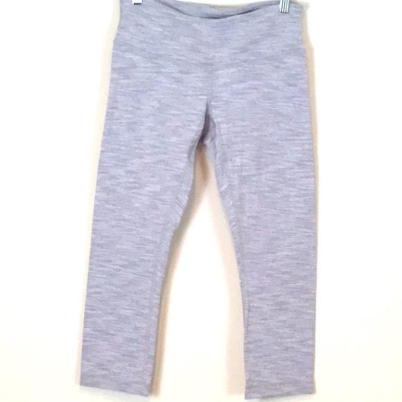 Lululemon Gray Capri Leggings